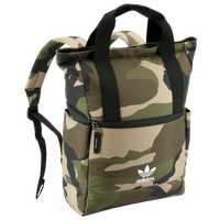 adidas Originals Tote III Backpack - Olive Green / Brown