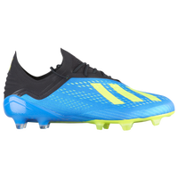adidas X 18.1 FG - Men's - Light Blue / Yellow
