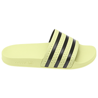 adidas Adilette Slide - Women's - Yellow