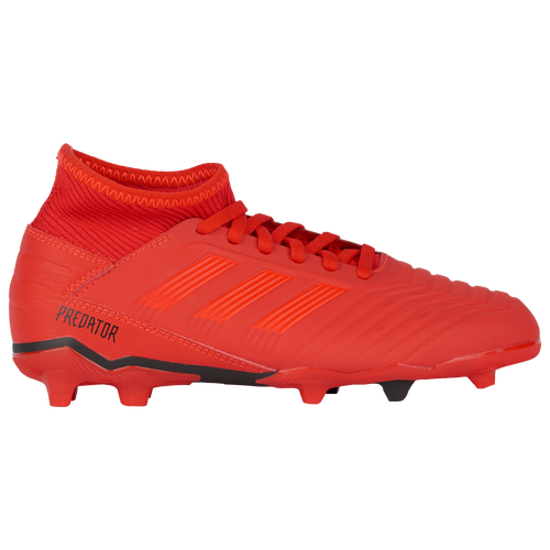 ... adidas Predator 19.3 FG - Boys Grade School - Soccer - Shoes - Active  Red Solar  ADIDAS YOUTH ... b51bdb076e9d1