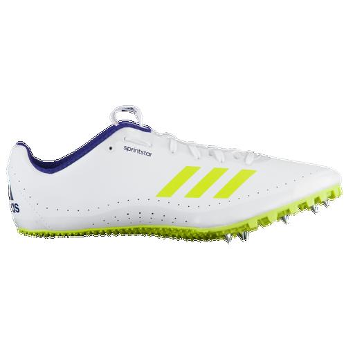 Adidas sprintstar hombre 's Track & Field zapatos calzado blanco