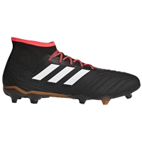 adidas Predator 18.2 FG - Men's - Black / White