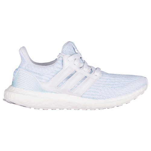 superior quality 7444a fd37e delicate adidas Ultra Boost Parley Boys Grade School Running Shoes White  White Ice Blue