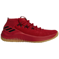 adidas Dame 4 - Men's -  Damian Lillard - Red / Tan