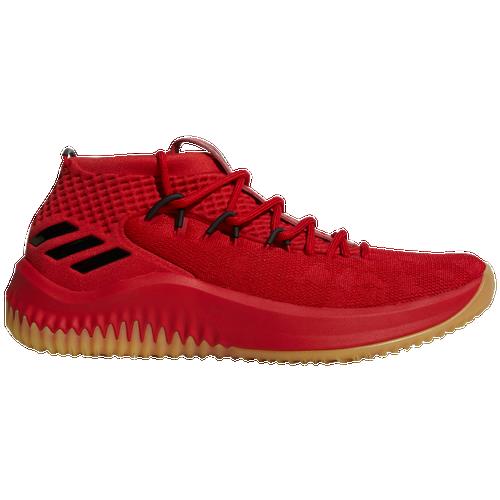 adidas dame 4 uomini sono scarpe da basket damian lillard rosso
