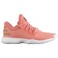 adidas Harden Vol. 1 LS - Boys' Grade School -  James Harden - Pink / Tan