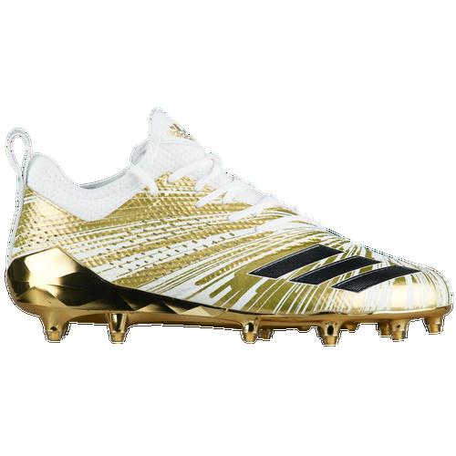 adidas adiZero 5-Star 7.0 Metallic - Men's Football Shoes - Gold Metallic/Gold Metallic/White CQ0345