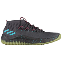 adidas Dame 4 - Men's -  Damian Lillard - Black / Light Blue