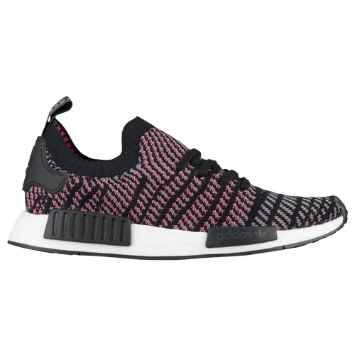 adidas Originals NMD R1 Primeknit - Men's - Casual - Shoes -  Black/Grey/Solar Pink