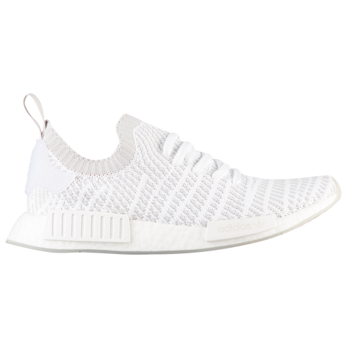 adidas Originals NMD R1 STLT Primeknit - Men's - Casual - Shoes - White/Grey/Crystal White