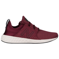New Balance Fresh Foam Cruz Retro Hoody - Men's - Maroon / Black