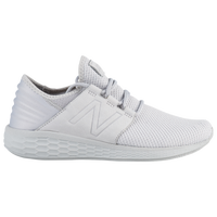 New Balance Fresh Foam Cruz V2 Nubuck - Men's - All White / White