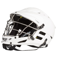 Cascade CS-R Lacrosse Helmet - Grade School - All White / White