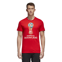 adidas World Cup 2018 T-Shirt - Men's - World Cup - Red / Multicolor