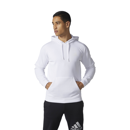 adidas team issue fleece hoodie - men u0026 39 s - training - clothing  white