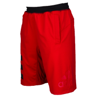 adidas Speed Breaker Icon Shorts - Men's - Red / Black