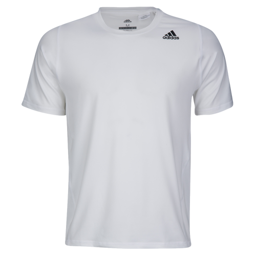 adidas ALPHASKIN S/S Fitted T-Shirt - Men's - Training - Clothing - White