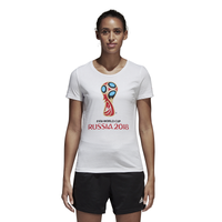 adidas World Cup 2018 T-Shirt - Women's - World Cup - White / Multicolor