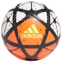 adidas Glider Soccer Ball - White / Orange