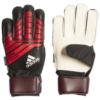 adidas Predator Fingersave Junior GK Gloves - Grade School - Black / Red