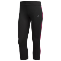 adidas Response 3/4 Tights - Women's - Black / Pink