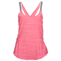 adidas 3-Stripe X-Back Tank - Women's - Pink