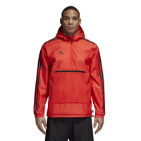 adidas Tango Windbreaker - Men's - Red / Black