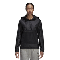 adidas Tango Windbreaker - Women's - All Black / Black