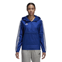 adidas Tango Windbreaker - Women's - Blue / White