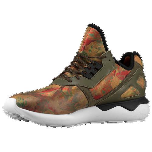 Adidas Originals tubular Runner zapatos corrientes de los hombres de oscuro