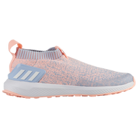 adidas RapidaRun Laceless - Boys' Preschool - Light Blue / Orange