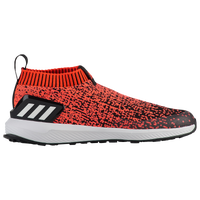 adidas RapidaRun Laceless - Boys' Preschool - Red / Black