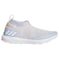 adidas RapidaRun Laceless - Boys' Grade School - Light Blue / Orange