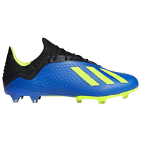 adidas X 18.2 FG - Men's - Blue / Yellow