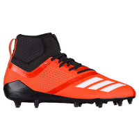 adidas adiZero 5-Star 7.0 Mid - Men's - Orange / White
