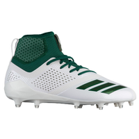 adidas adiZero 5-Star 7.0 Mid - Men's - White / Dark Green