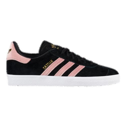 adidas originals gazelle frauen ist casual schuhe schwarz / raw - pink