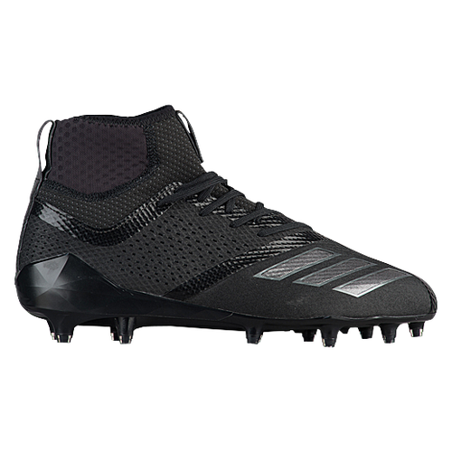 adidas adiZero 5-Star 7.0 Mid - Men's Football Shoes - Black/Night Metallic/Night Metallic DB0405