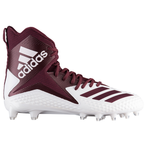 adidas Freak X Carbon High - Men's Football Shoes - White/Maroon DB0563