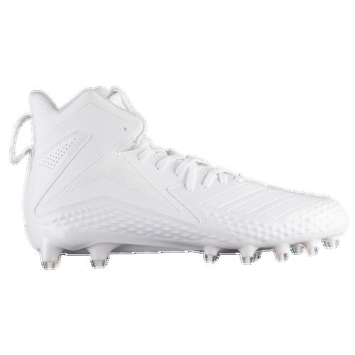 adidas mostro x carbonio metà uomini e 'il football scarpe bianco / bianco / bianco