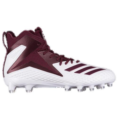 Adidas freak 's x carbon Mid hombre 's freak football zapatos blanco / Maroon 2762aa