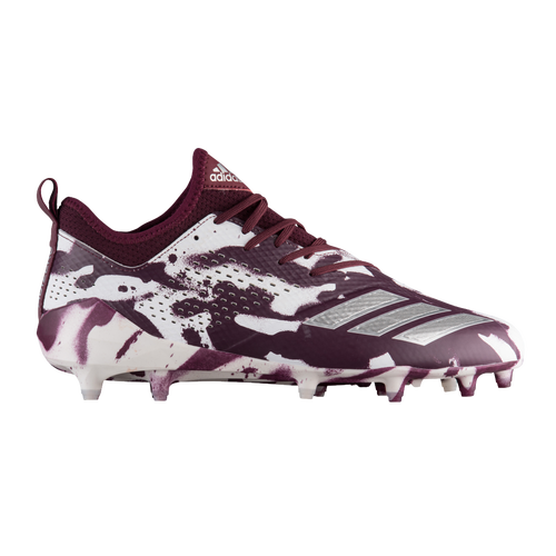 ... adidas adiZero 5-Star 7.0 Tagged Camo - Mens - Football - Shoes -  MaroonSilver 1cf588976f8