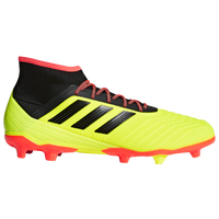 adidas Predator 18.2 FG - Men's - Yellow / Black