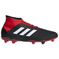 adidas Predator 18.2 FG - Men's - Black / Red