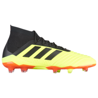 adidas Predator 18.1 FG - Men's - Yellow / Black