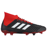 adidas Predator 18.1 FG - Men's - Black / Red