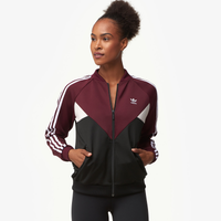 adidas Originals Colorado Track Jacket - Women's - Maroon / Black