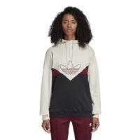 adidas Originals Colorado Oversized Hoodie - Women's - Off-White / Black