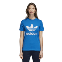 adidas Originals Adicolor Trefoil T-Shirt - Women's - Blue