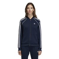 adidas Originals Adicolor Superstar Track Top - Women's - Navy / White